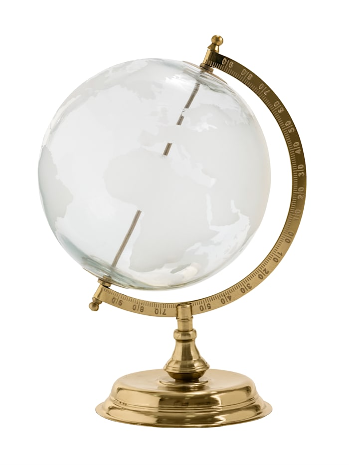 IMPRESSIONEN living Globe, Coloris doré/transparent/blanc