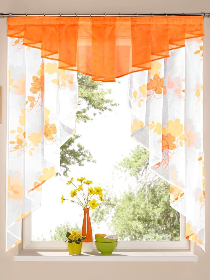 Webschatz Kleinfenster Gardine, Jenny, Terra