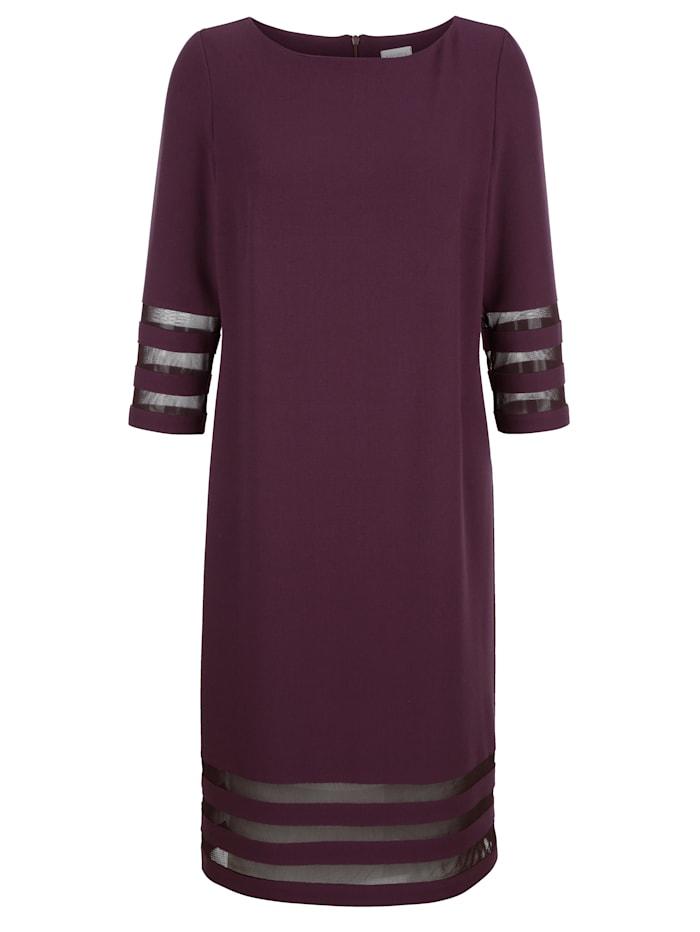 Kleid aus Crépe Georgette