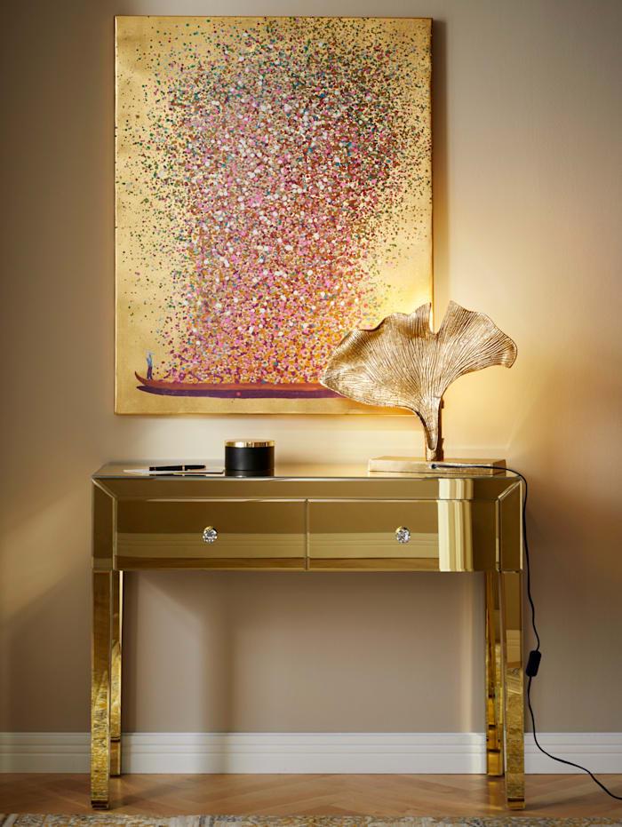 Nástenný obraz Kvety, Zlatá