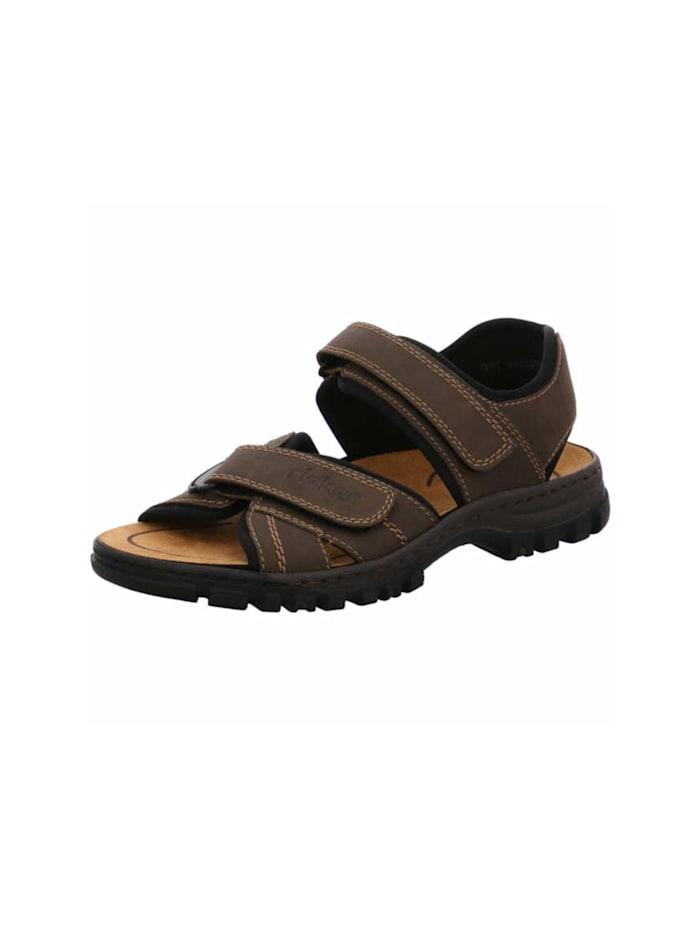 Rieker Sandale, mittel-braun