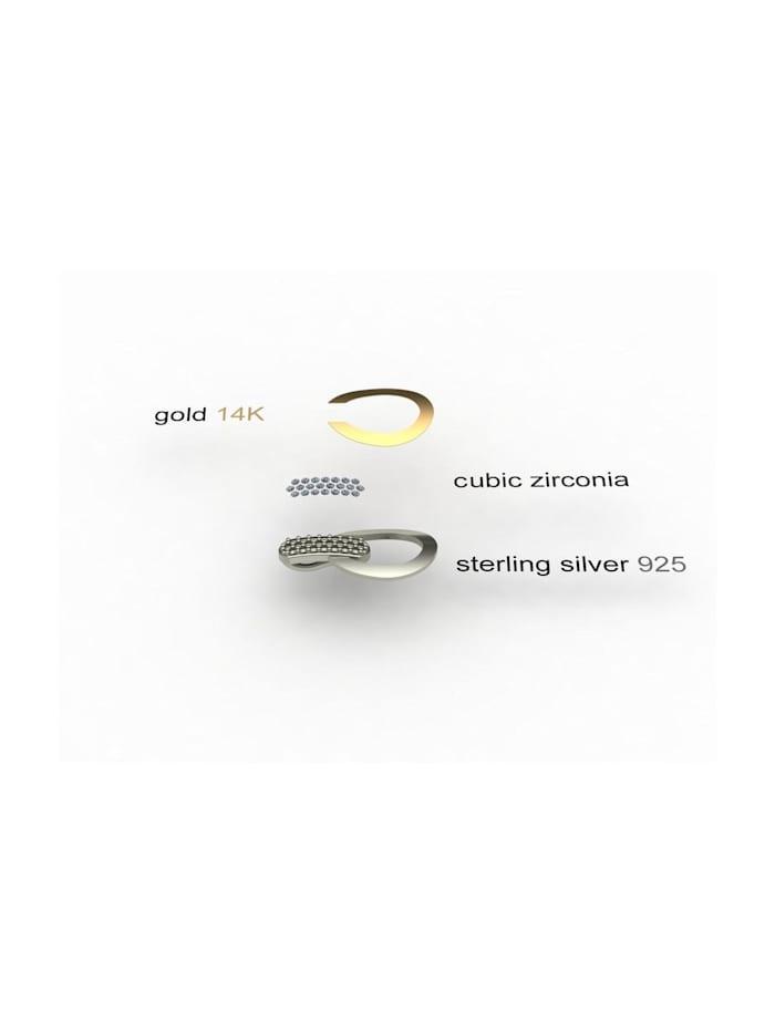 Anhänger - Sunny Exklusiv - Silber 925/000 & Gold 585/000 -