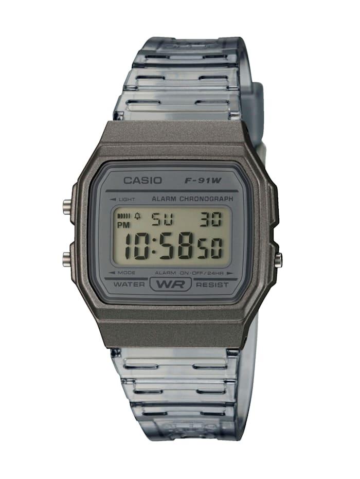 Casio Unisex-Uhr Chronograph, Anthrazit