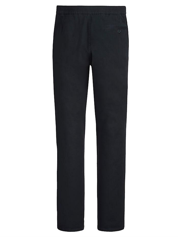 Pantalon à taille élastiquée