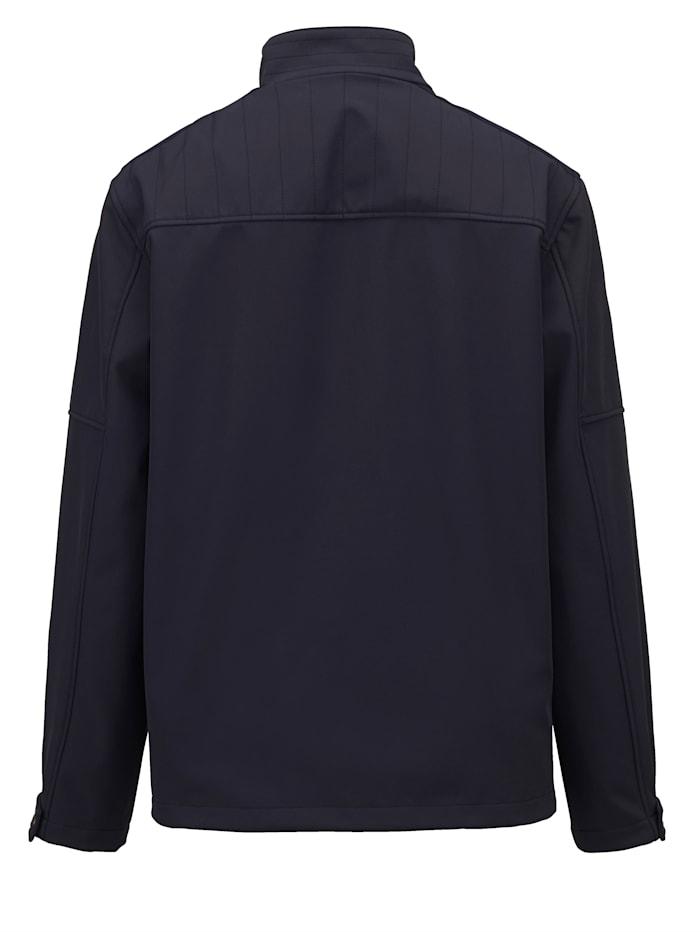 Softshell jas met speciale pasvorm