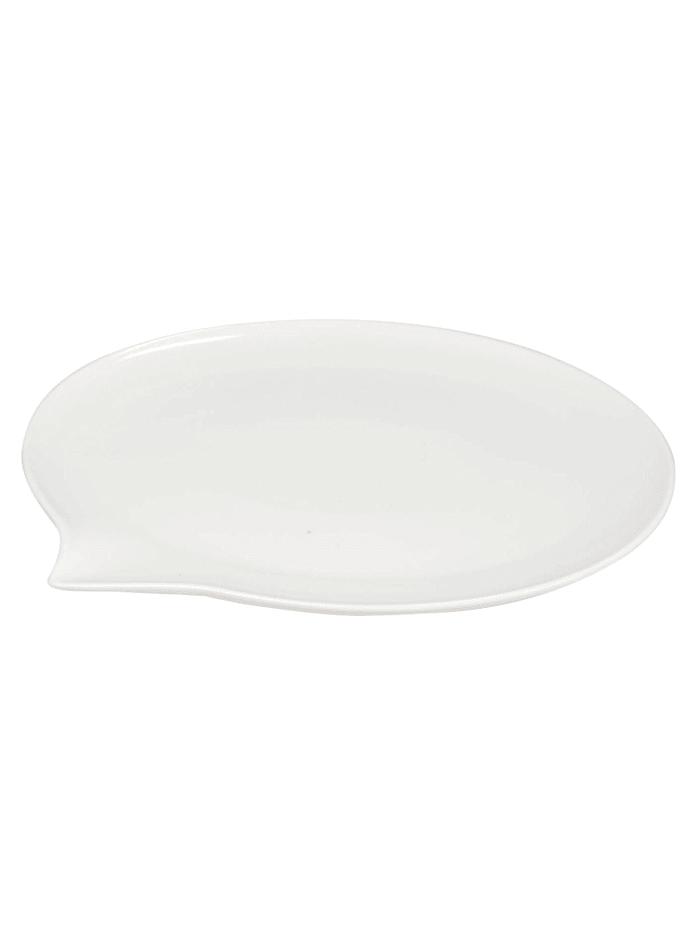 Neuetischkultur Teller Sprechblase, Weiß