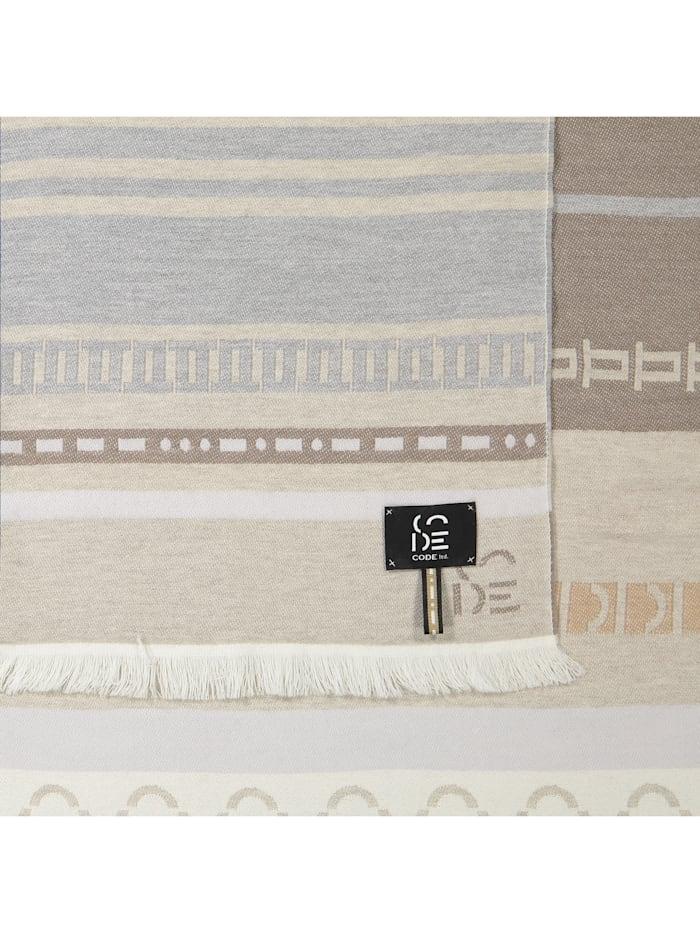 Premium Logo-Schal aus edler Wolle - Made in Italy