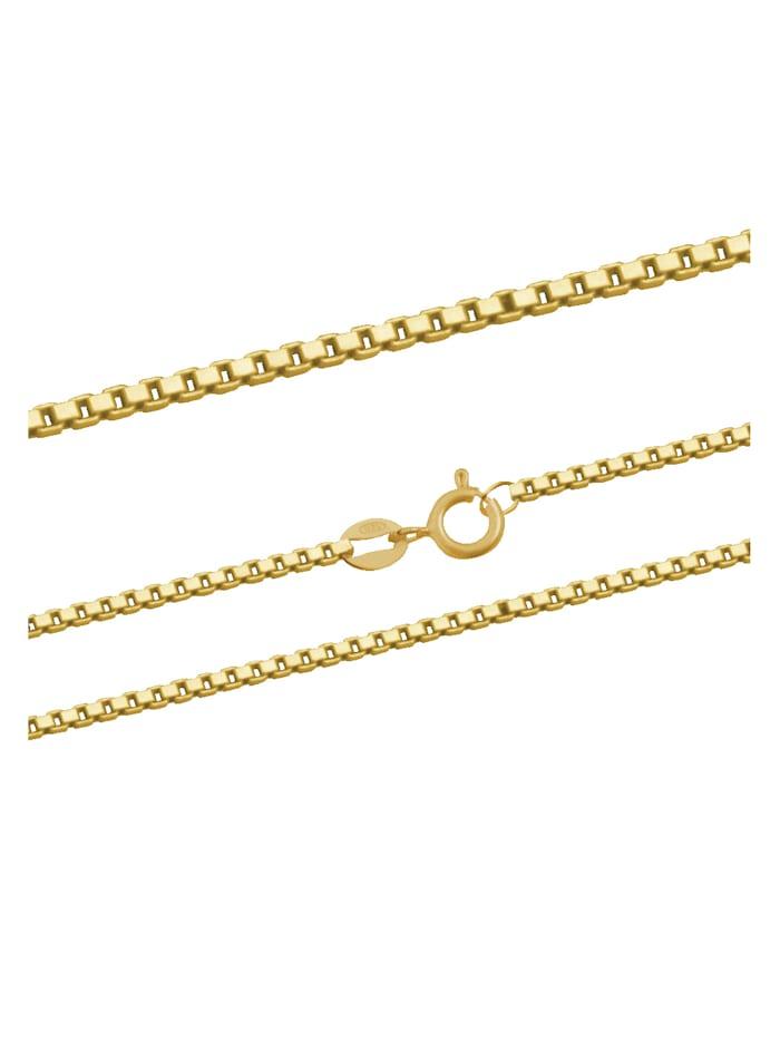 ARU Halsband i venezialänk, Guldfärgad