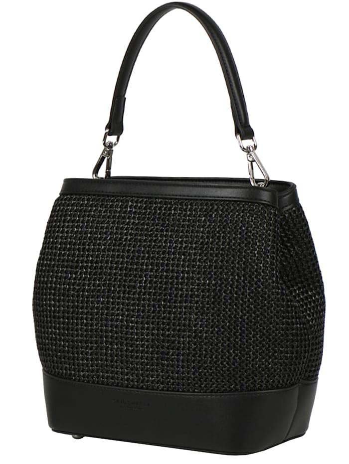 Seidenfelt Tarnby Handtasche 21 cm, black