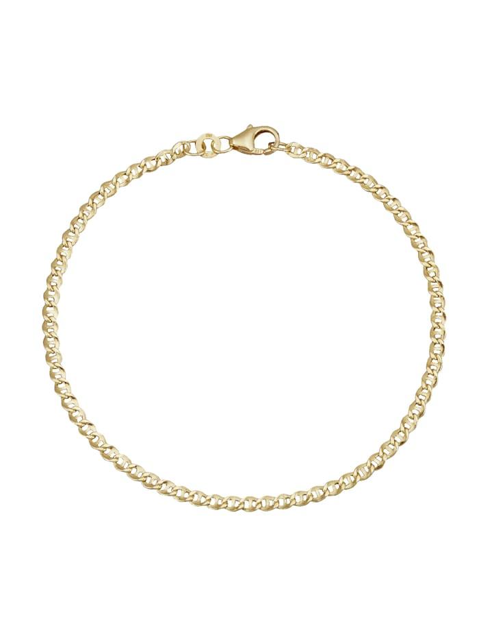 Bracelet maille gourmette En or jaune, Coloris or jaune