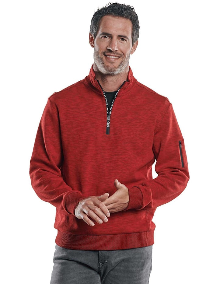 Engbers Sportives Sweatshirt, Feuerrot