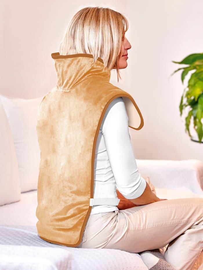 Coussin chauffant pour la nuque et le dos