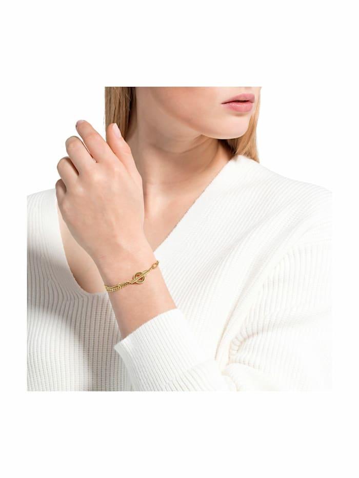 Armband für Damen, Edelstahl IP Gold