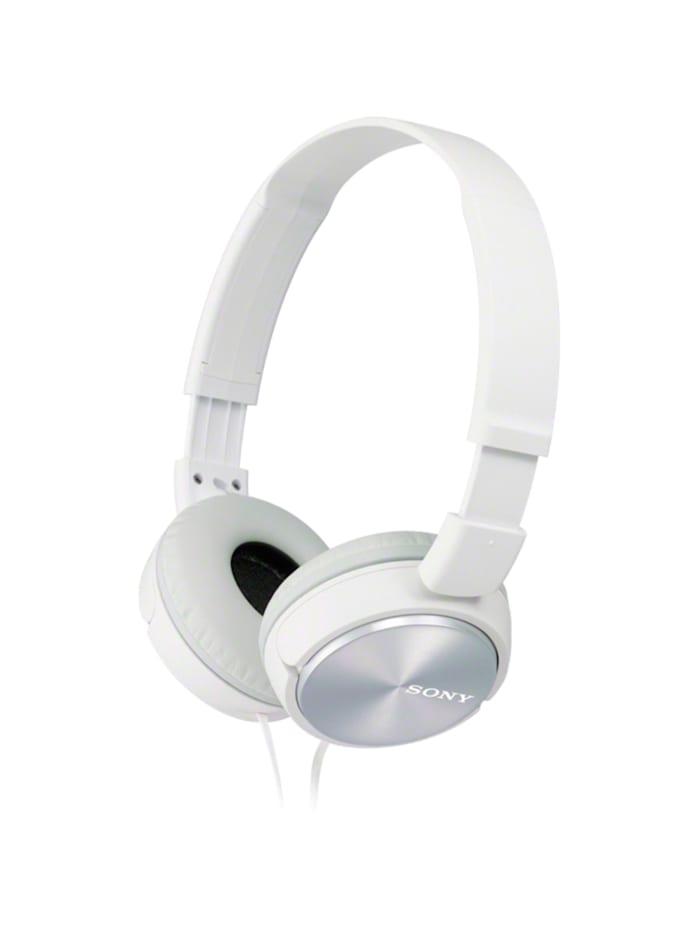 Sony Kopfhörer MDR-ZX310W HEAD OV, Weiß