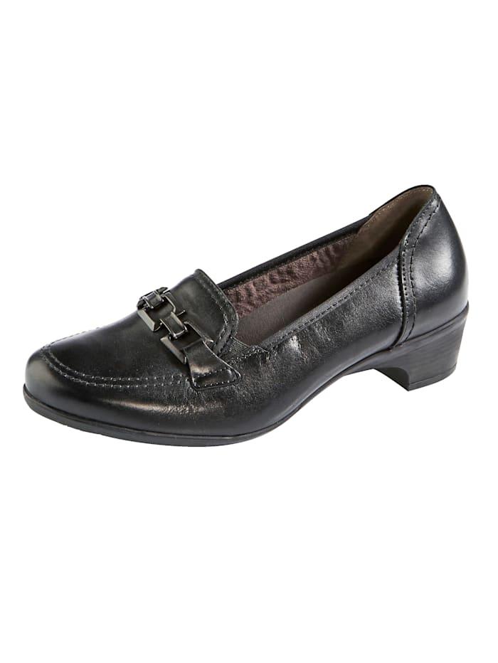 Naturläufer Court shoes, Black