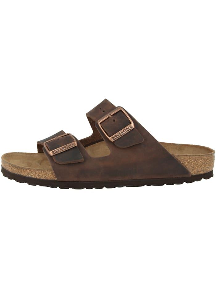 Birkenstock Sandale Arizona Fettleder normal, braun