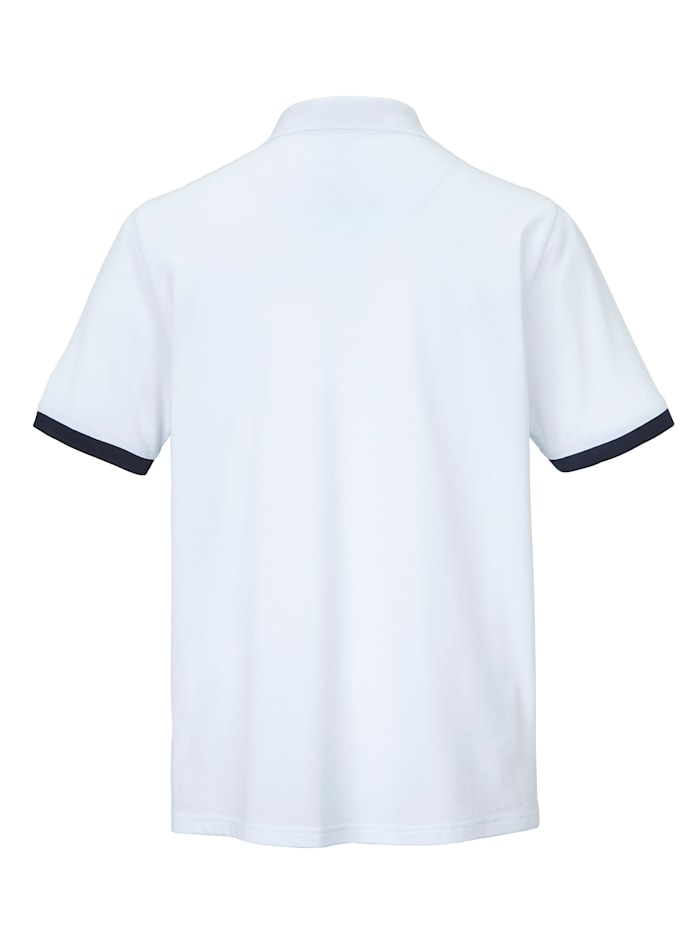 Poloshirt van luchtig piquémateriaal