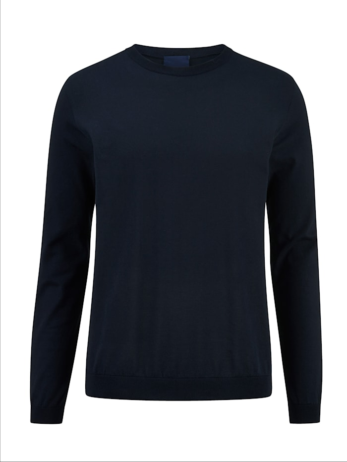 BABISTA Pullover aus super feiner Qualität, Marineblau