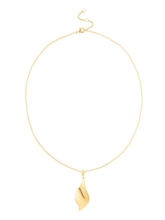 KALAIKA Halskette, Gelbgoldfarben