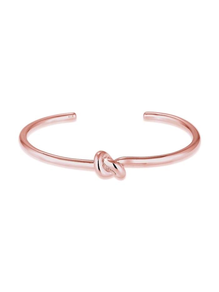 Elli Armband Knoten Blogger Trend 925 Sterling Silber, Rosegold