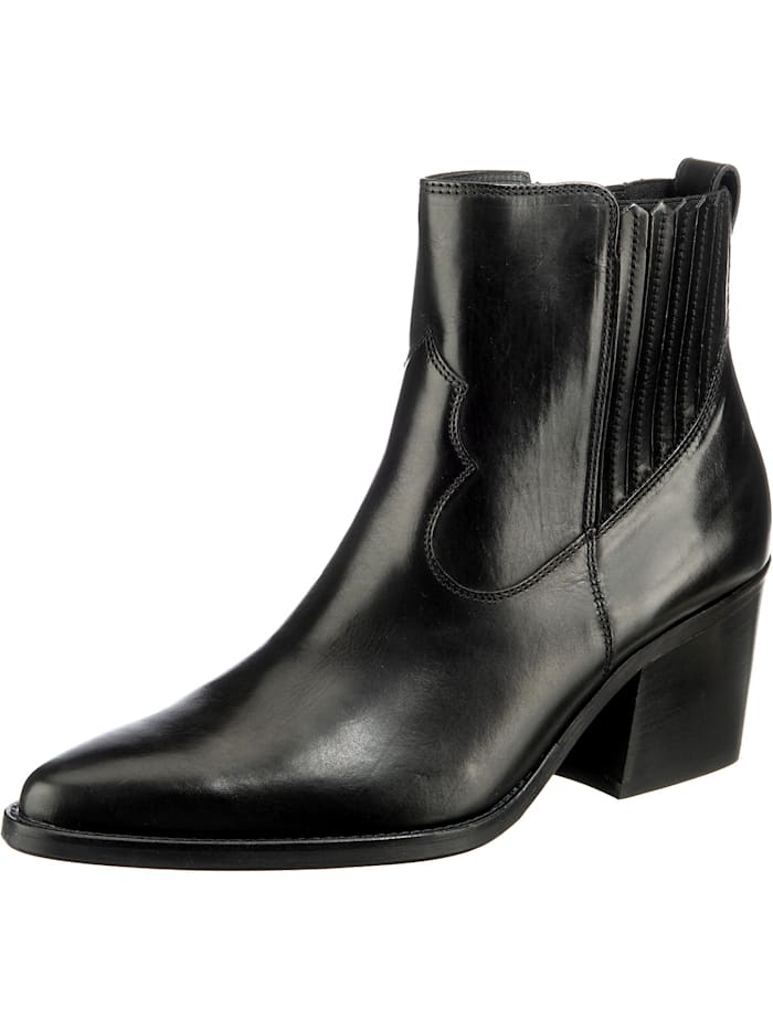 Paul Green Klassische Stiefeletten, schwarz