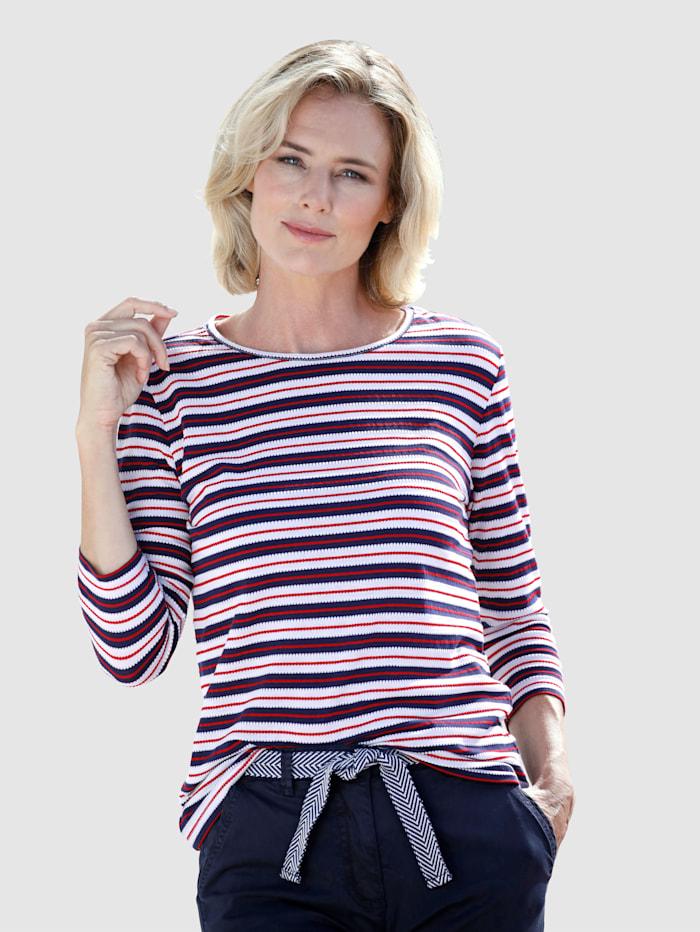 Dress In Raitakuosinen paita, Laivastonsininen