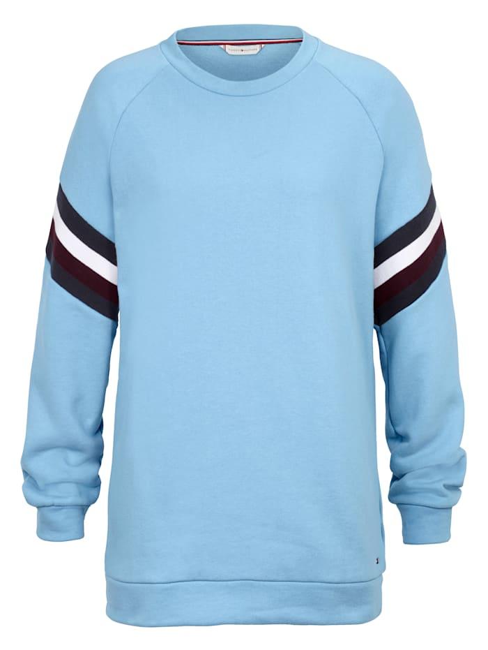 TOMMY HILFIGER Sweatshirt, Hellblau