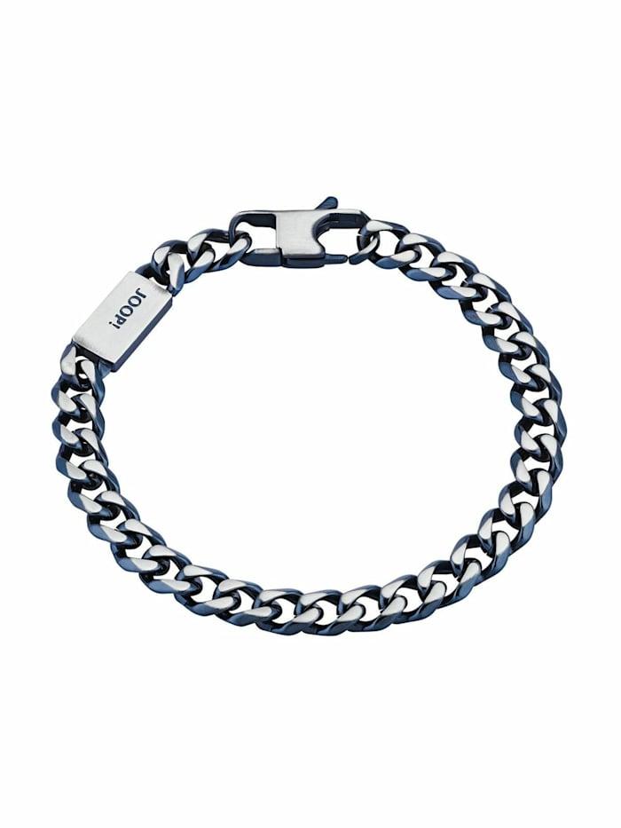 JOOP! Armband für Herren, Edelstahl, Bicolor