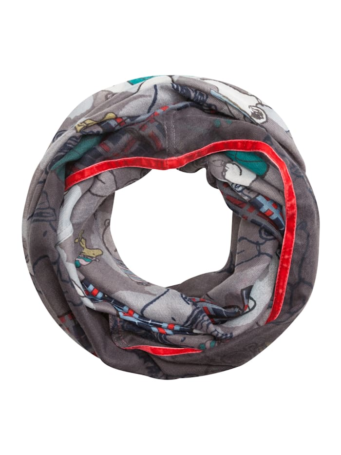 "Codello ""PEANUTS"" Loop aus recyceltem Polyester, dark blue"