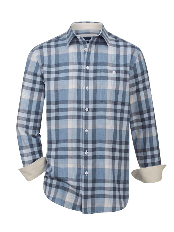Flanellhemd mit wärmender Wolle