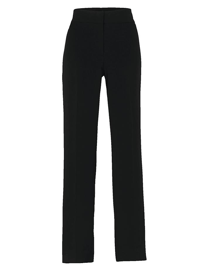 Pantalon à ceinture montée