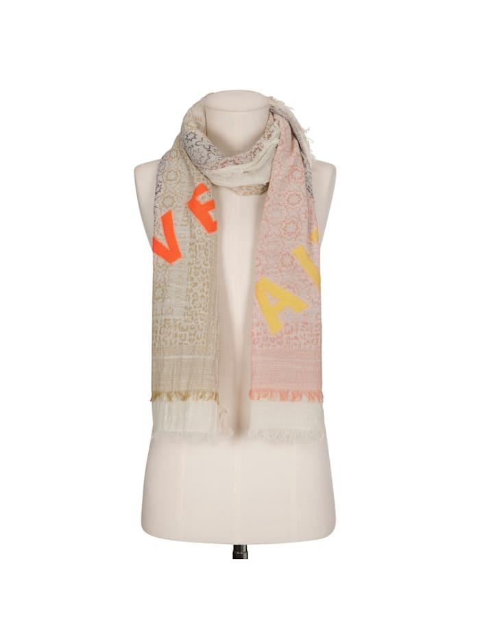 Logo-Schal aus reiner Baumwolle