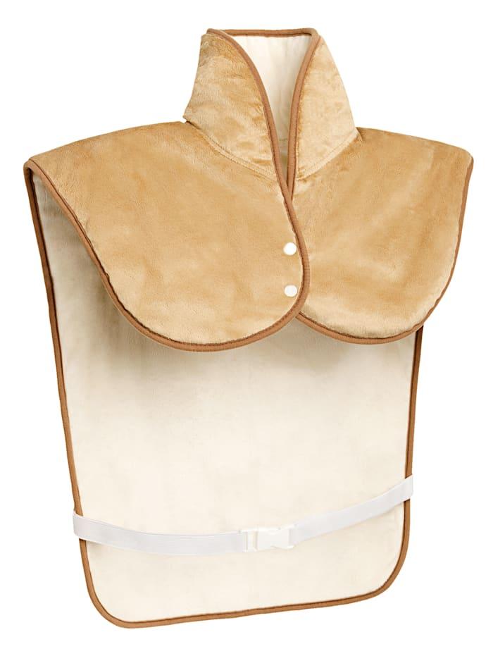 Promed Nek- en rugkussen voor aangename warmte, beige