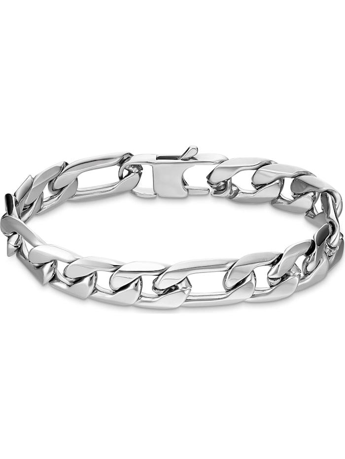 FAVS. FAVS Herren-Armband Edelstahl, silber
