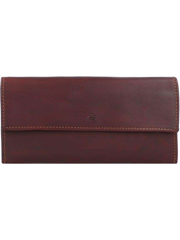 Esquire Dallas Geldbörse Leder 18 cm, braun