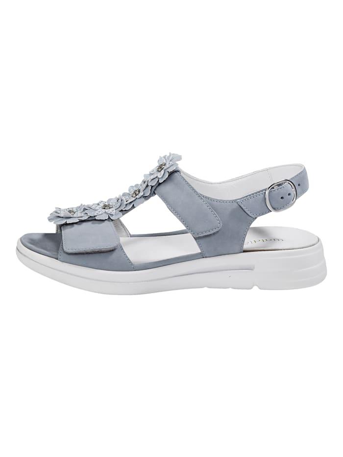 Sandale mit verstellbaren Klettbandagen