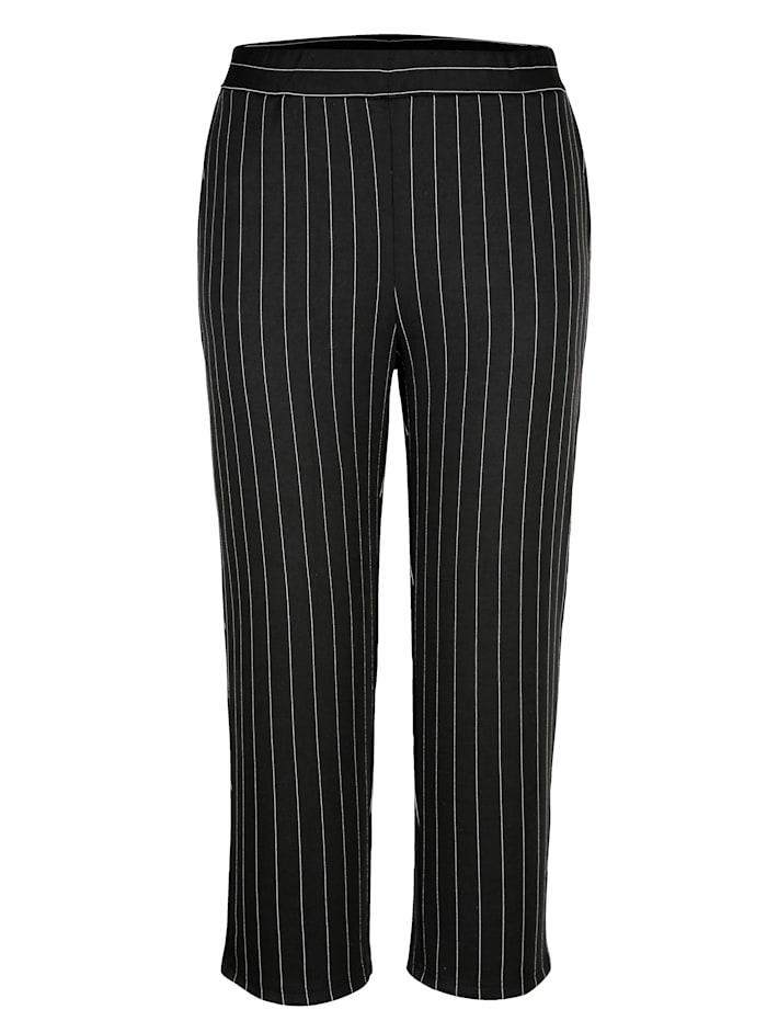 Jupe-culotte à motif rayé tendance