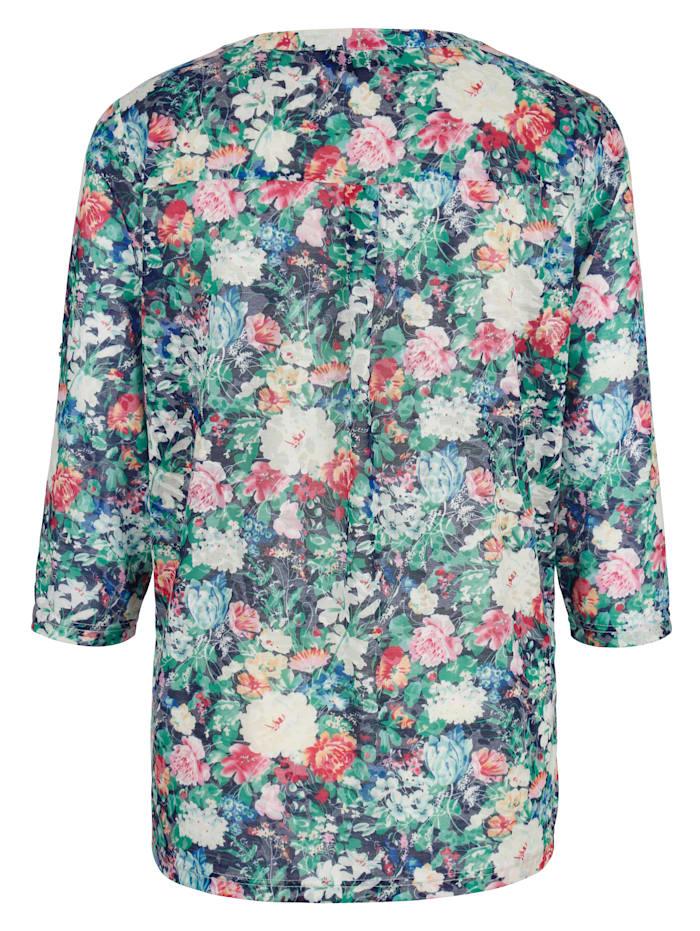 Shirt in floralem Druckdesign