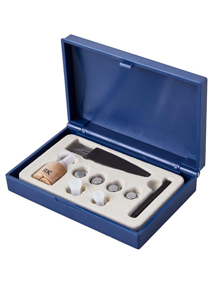 MedoVital Amplificateur auditif Forme ergonomique, Nude