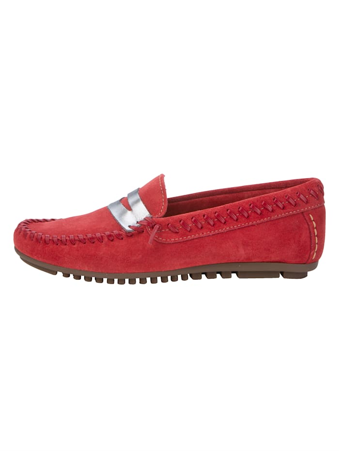 Moccasins Made from premium-quality leather