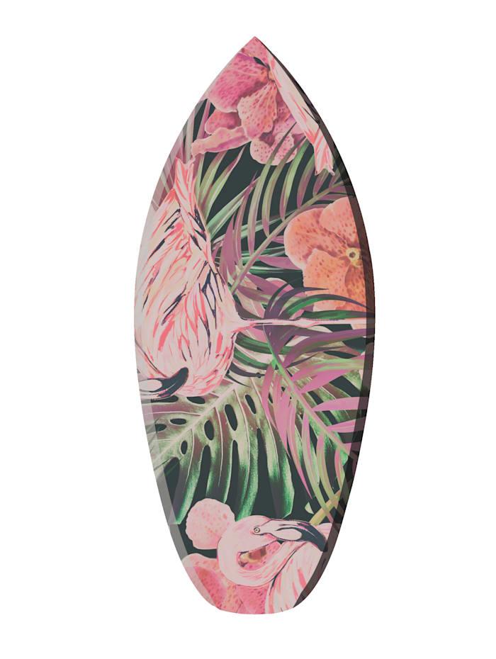 Queence Deko-Surfbrett, Multicolor