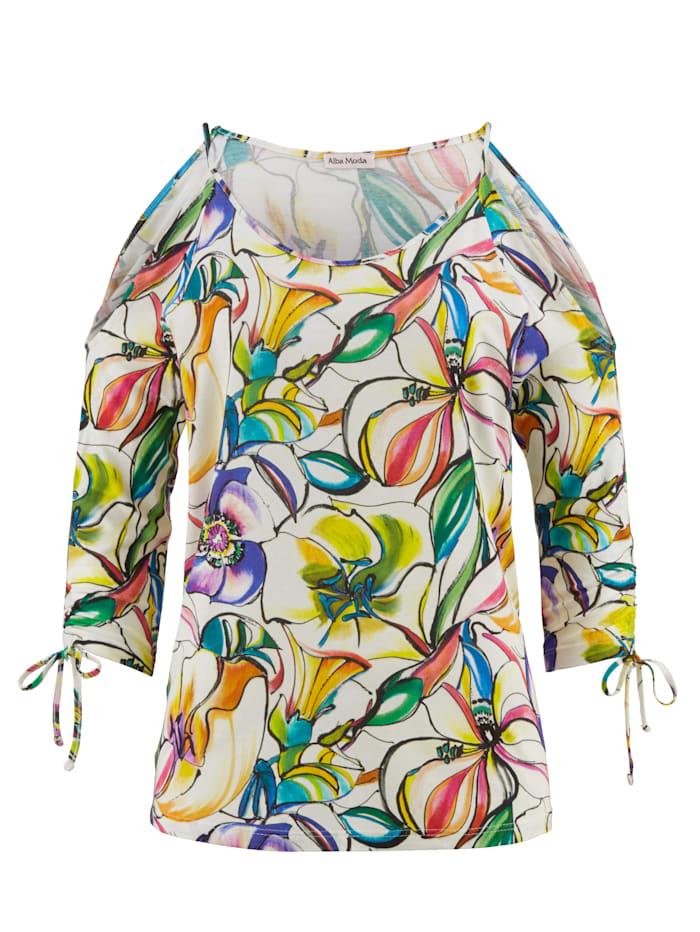Shirt im Cold-Shoulder-Style