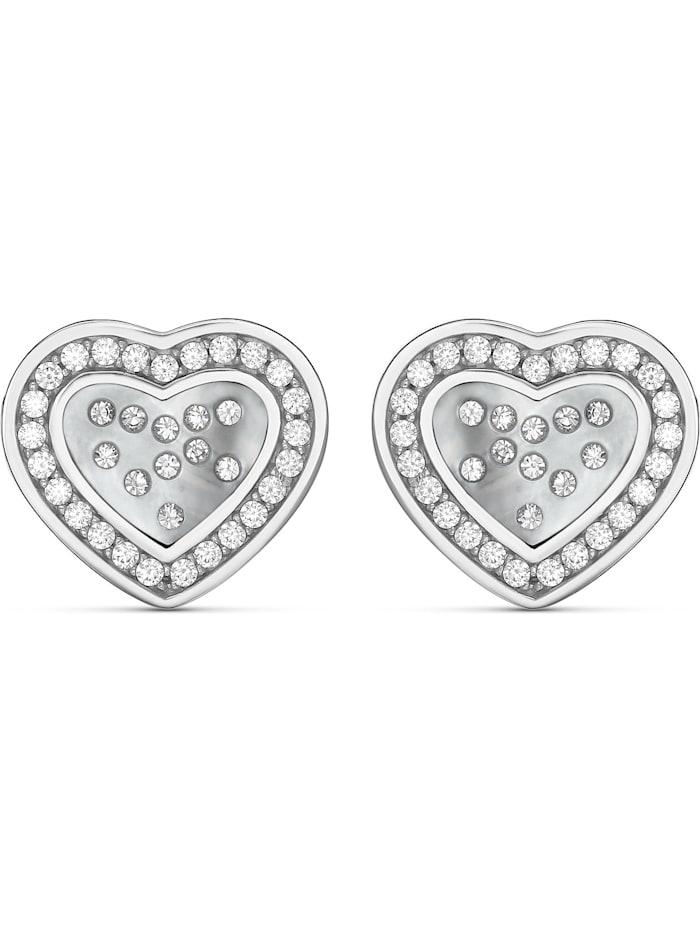 Jette JETTE Silver Damen-Ohrringe 925er Silber, silber
