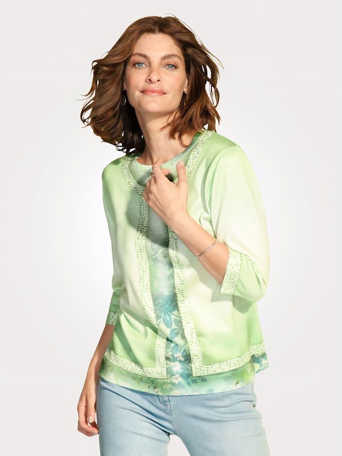 Pullover in 2in1-Optik