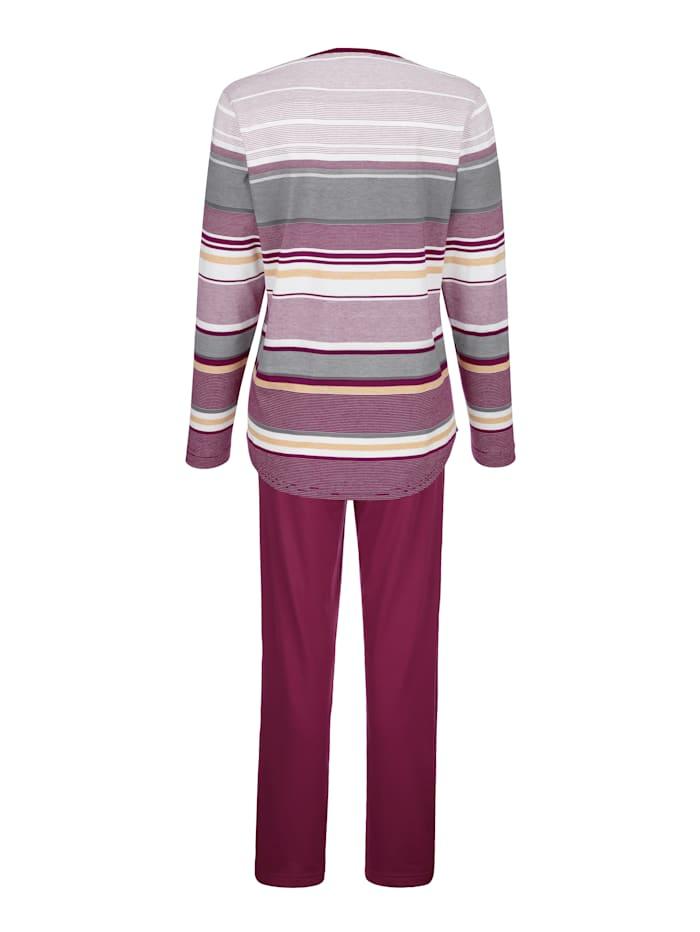 Pyjama van hoogwaardige klimaatvezels