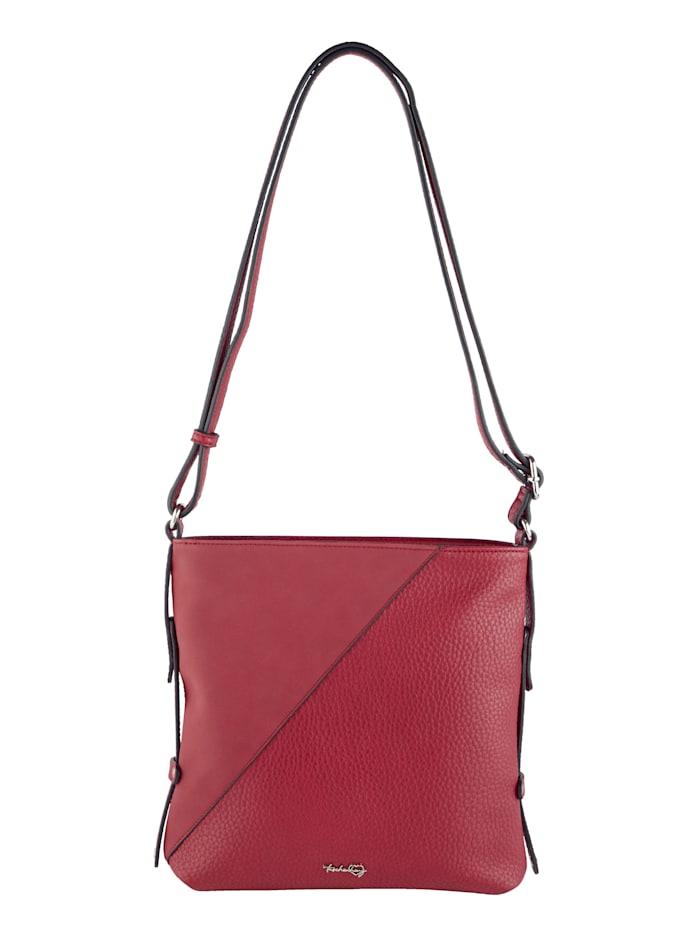 Taschenherz Umhängetasche aus hochwertigem Softmaterial, Rot