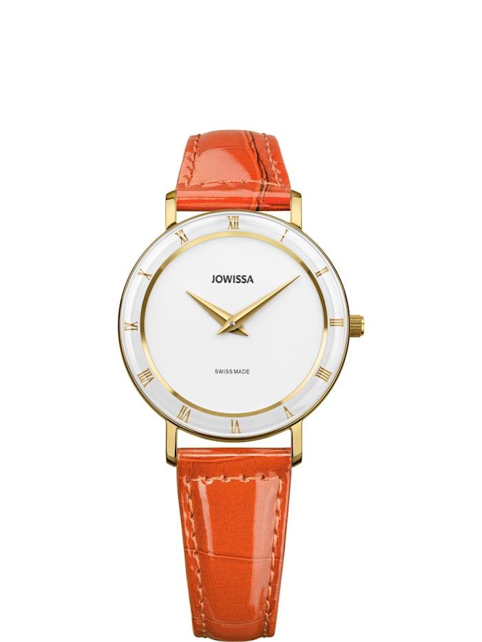 Jowissa Quarzuhr Roma Swiss Ladies Watch, weisß gold