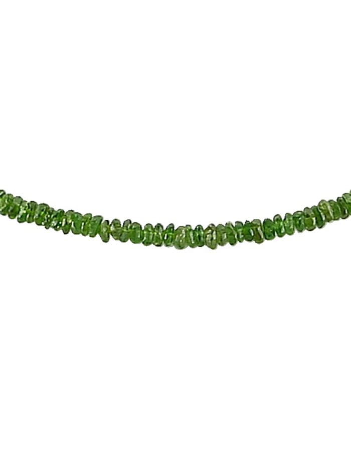 Gemondo Halskette mit Chromdiopsid, Grün