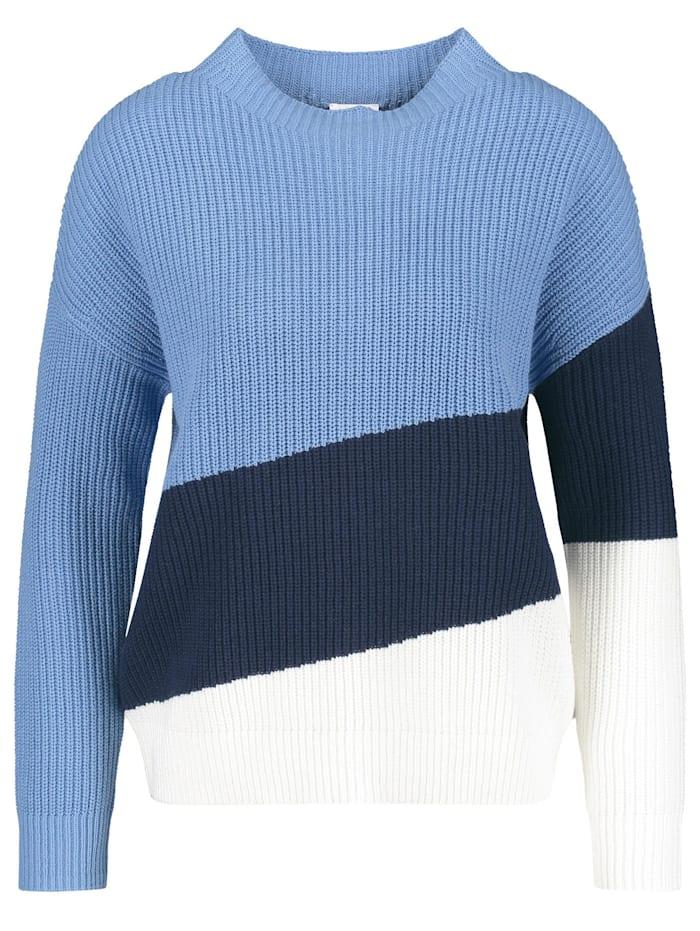 Pullover mit Colourblocking