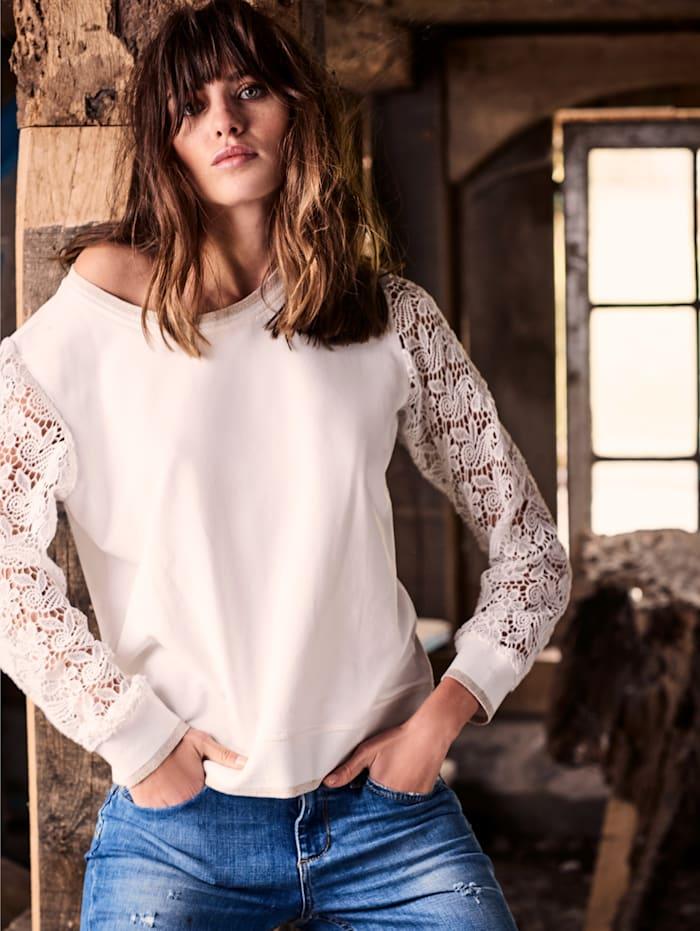 SIENNA Sweatshirt, Off-white